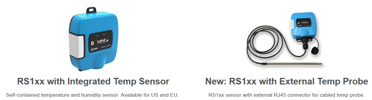Wireless Sensors RS1xx Temperature and… | Martinsson Elektronik