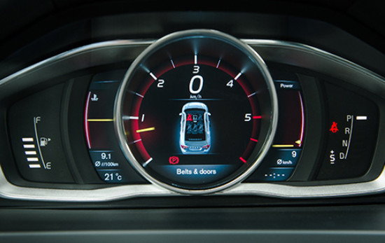 Volvo S60 Cluster Display